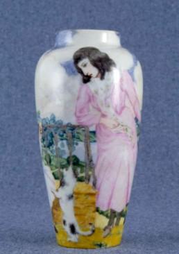 Porcellanes d'Antoni Serra decorades per Nogués, 1906-1910.
