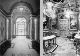 Vestíbul i saló. Casa Plandiura, 1917.